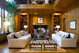 wooden living room remodeling contractors