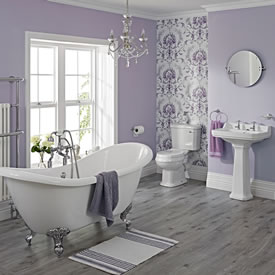 white bathroom remodeling contractors Evanston