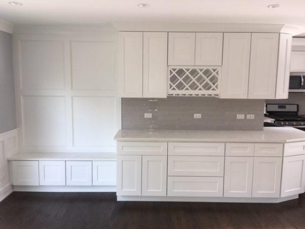white kitchen remodeling contractors Park Ridge