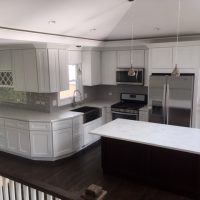white kitchen remodeling contractors Skokie